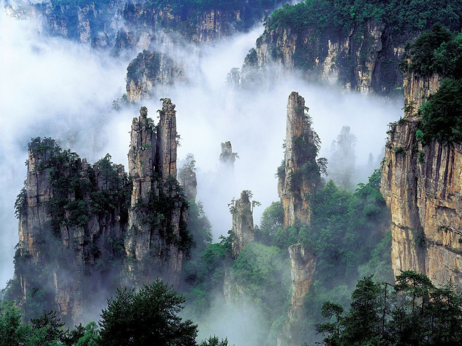 12a-Tianzi Mountains - China
