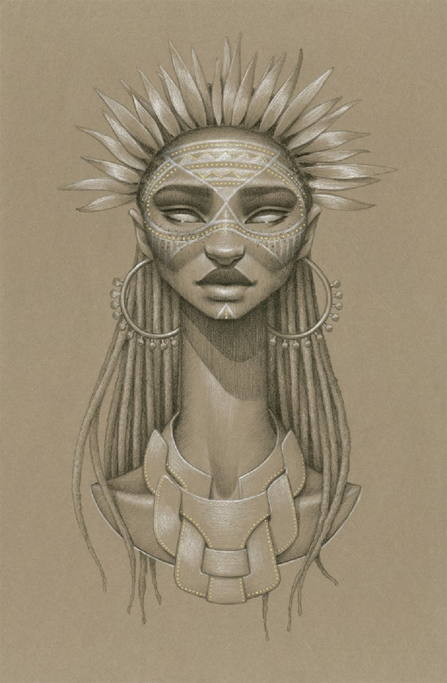 Anyanwu Sun Goddess By Sara Golish
