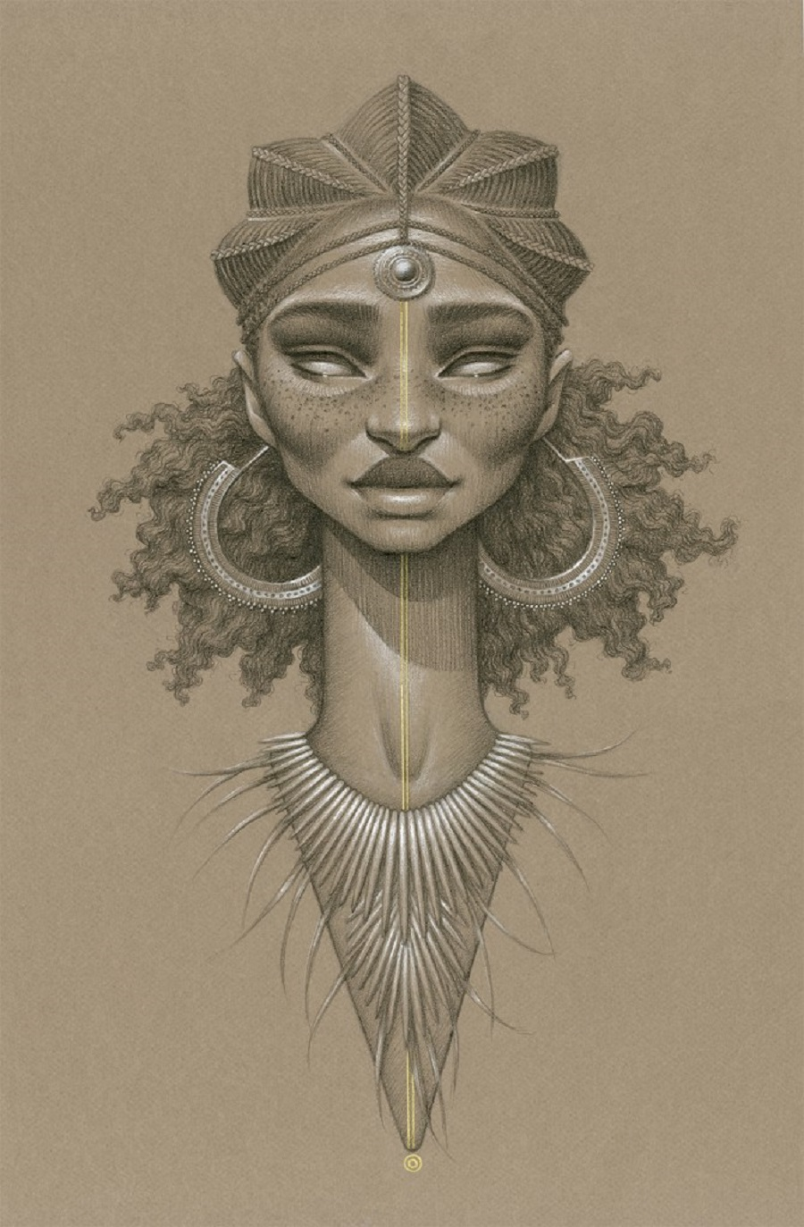 Taitu Sun Goddess by Sara Golish