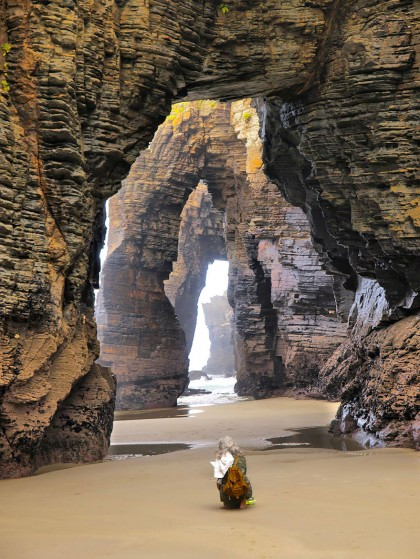 4-The Beach of the Cathedrals, Ribadeo, Spain