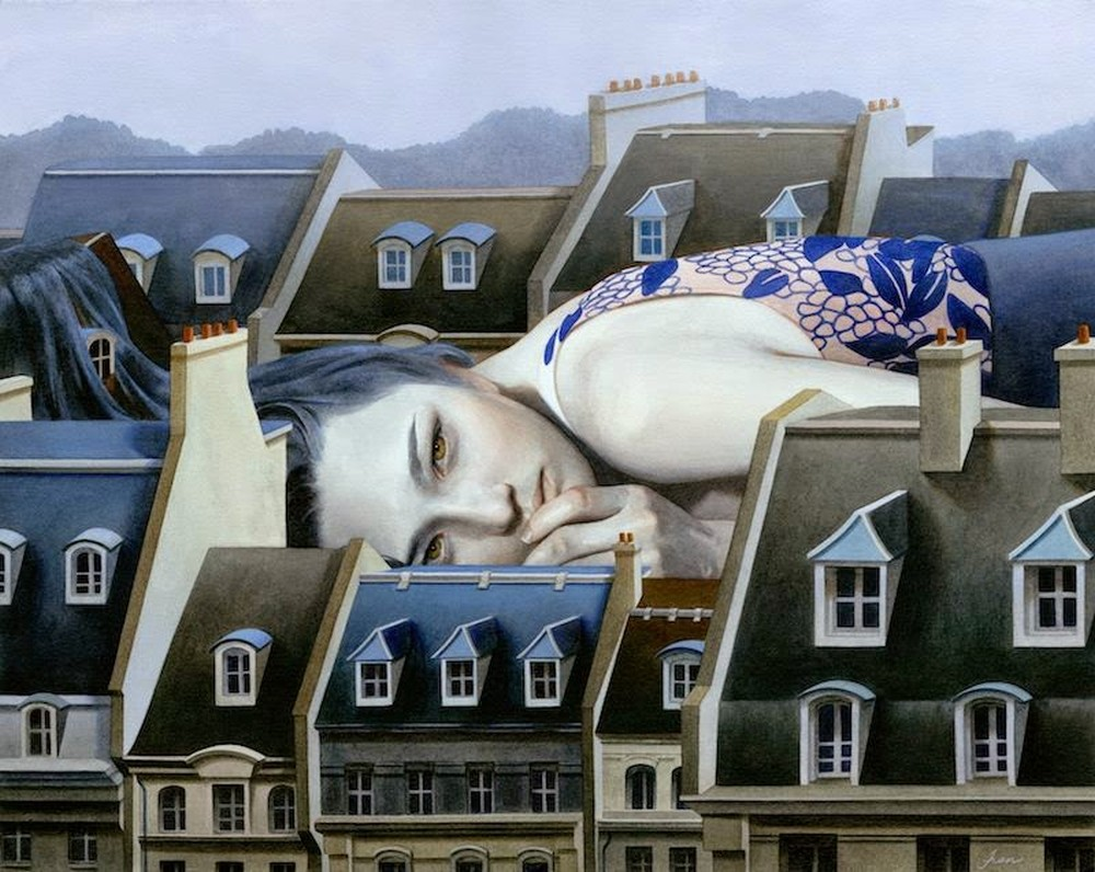 Tran Nguyen Paintings-Taste-For_Bitterweet_Beds