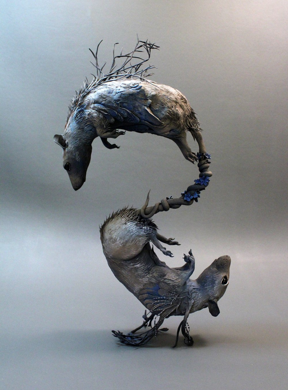 Ellen Jewett animal plant sculpture 2785