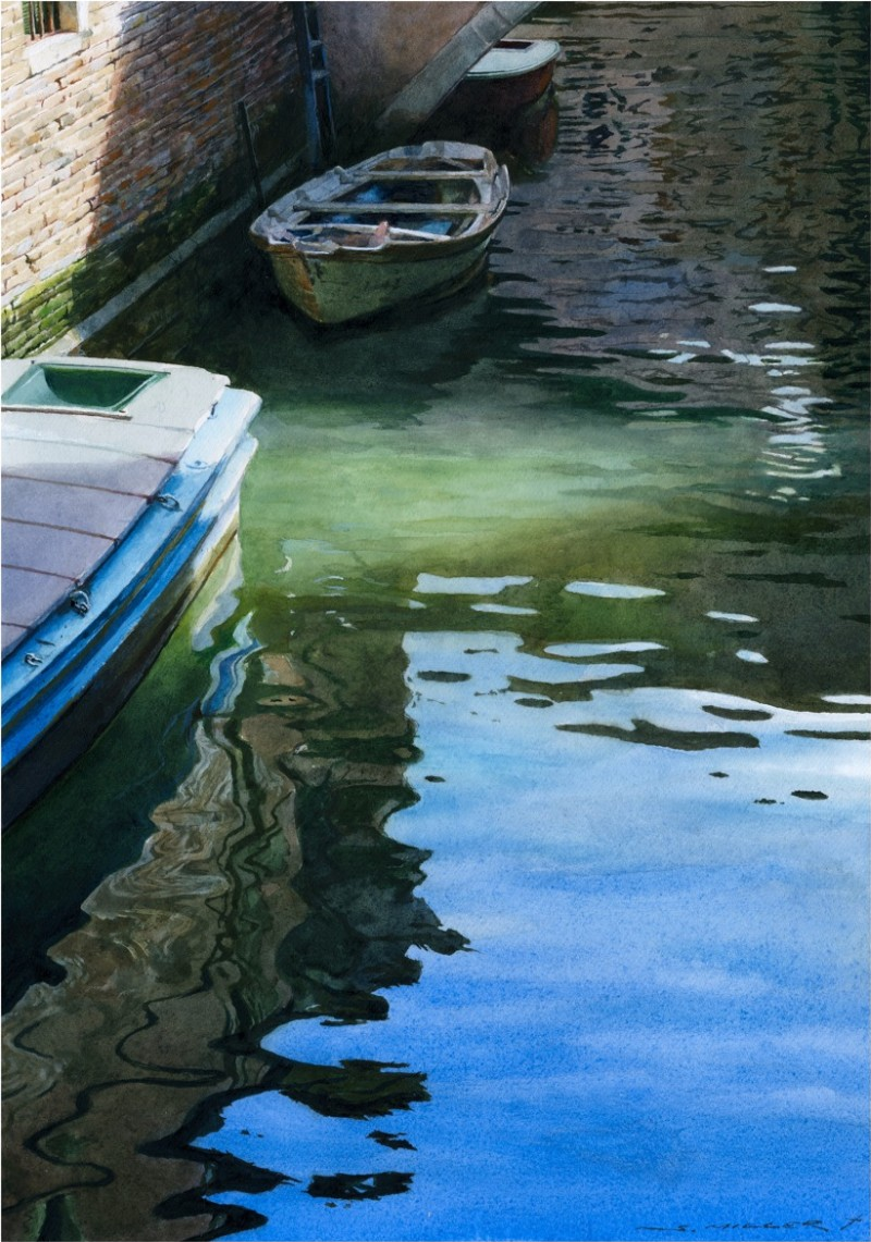 Stan Miller - Paintings Calm Water - 7199