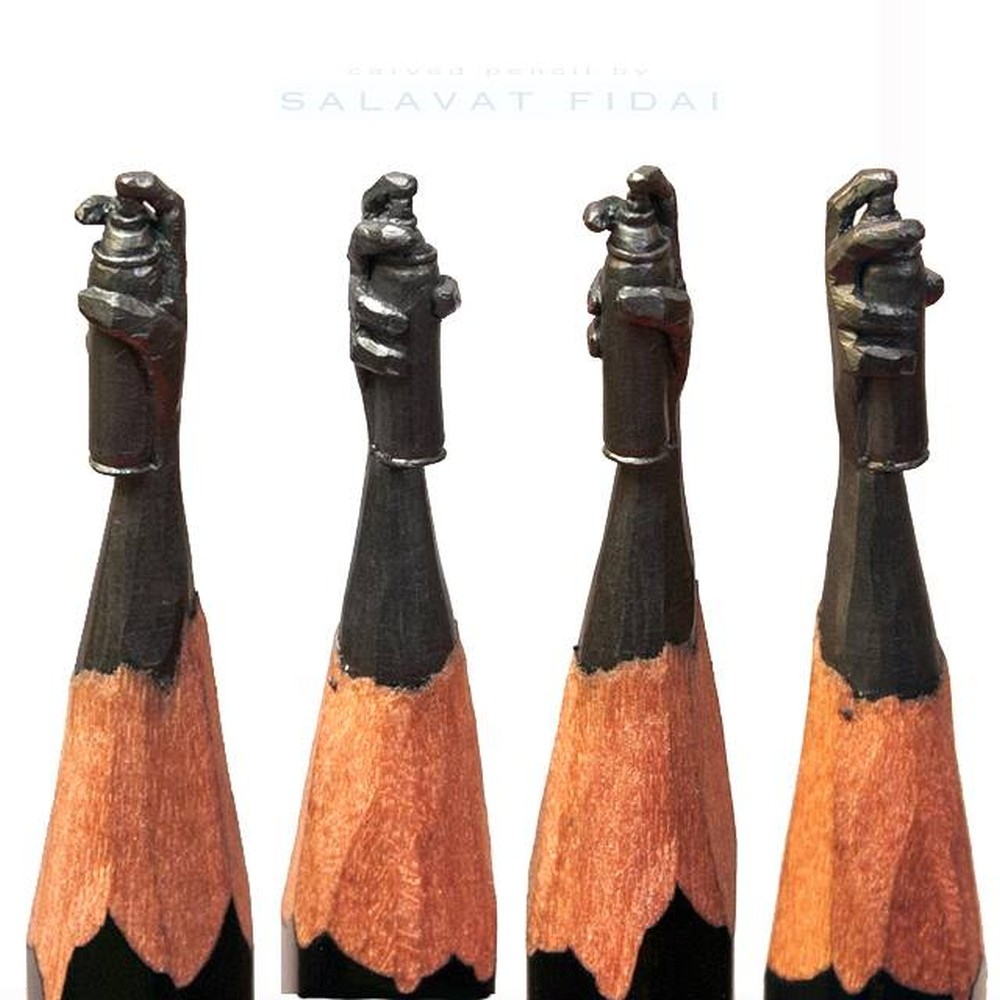 Salavat Fidai-pencil-sculpture-aqw475