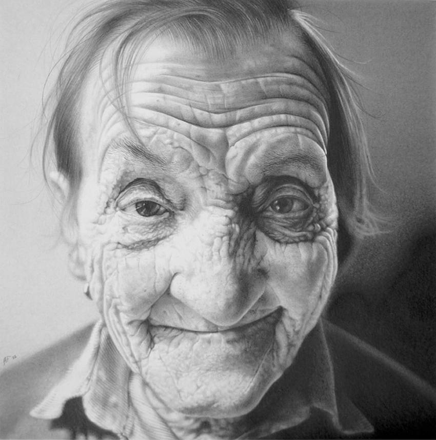 Antonio Finelli Realistic Pencil Drawings - A254oij