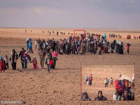 Marwan - Syrians Crossing Border