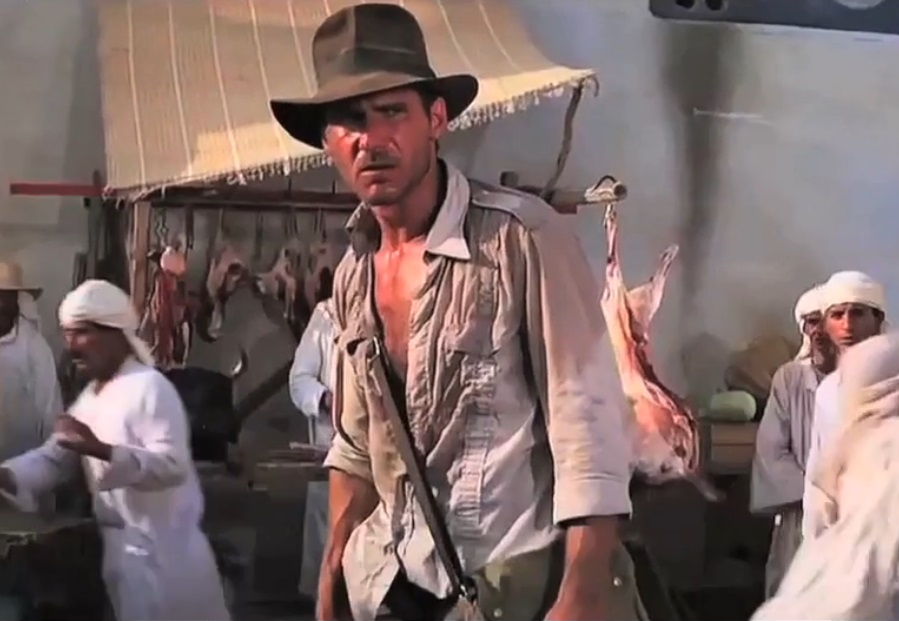 Film Evolution – Indiana Jones