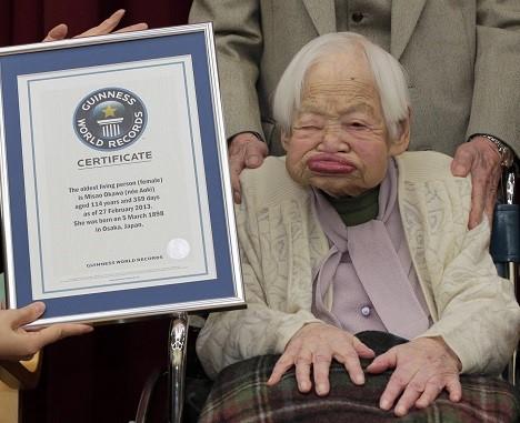 Misao Okawa / (AP Photo/Itsuo Inouye)