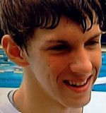 """A 15-Year Old Michael Phelps Talks about his Teen Life, Swimming and Olympics. He said, """"I just want to get faster."""""""