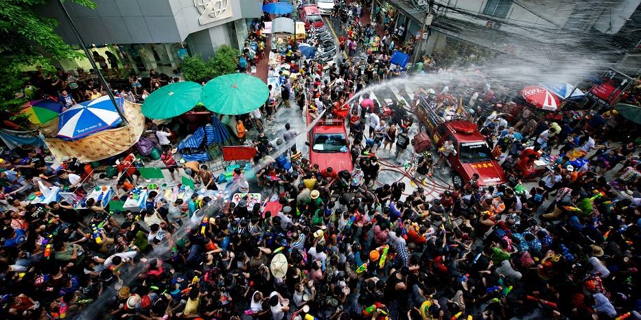 water festival - thailand