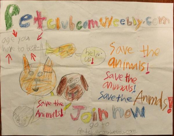 Ken - Save Animal -Poster 2