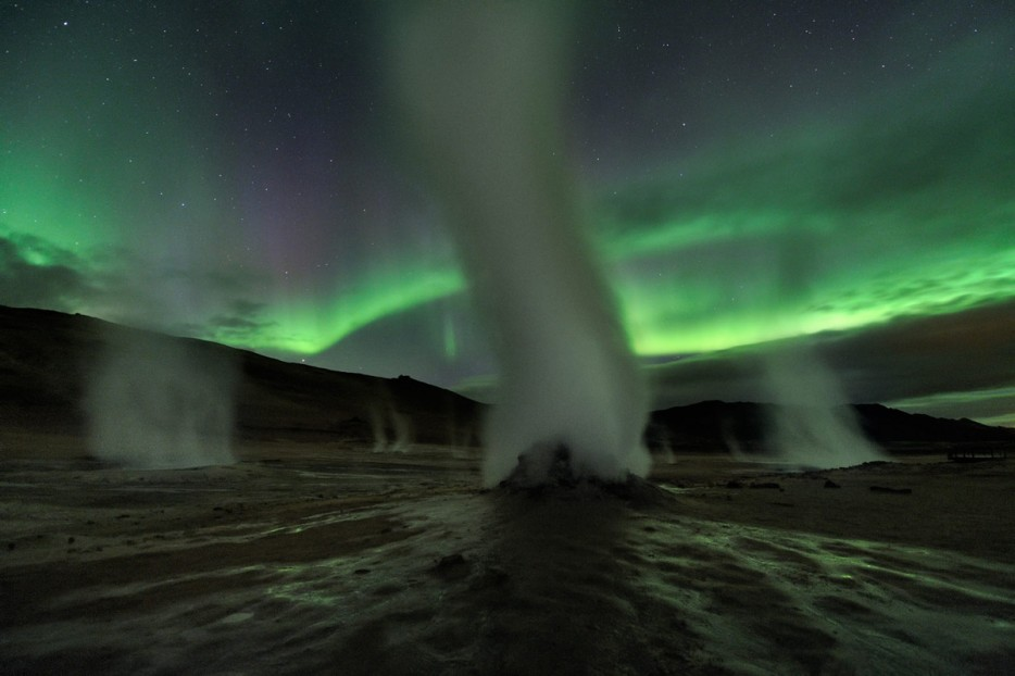 Steam Towers, Iceland