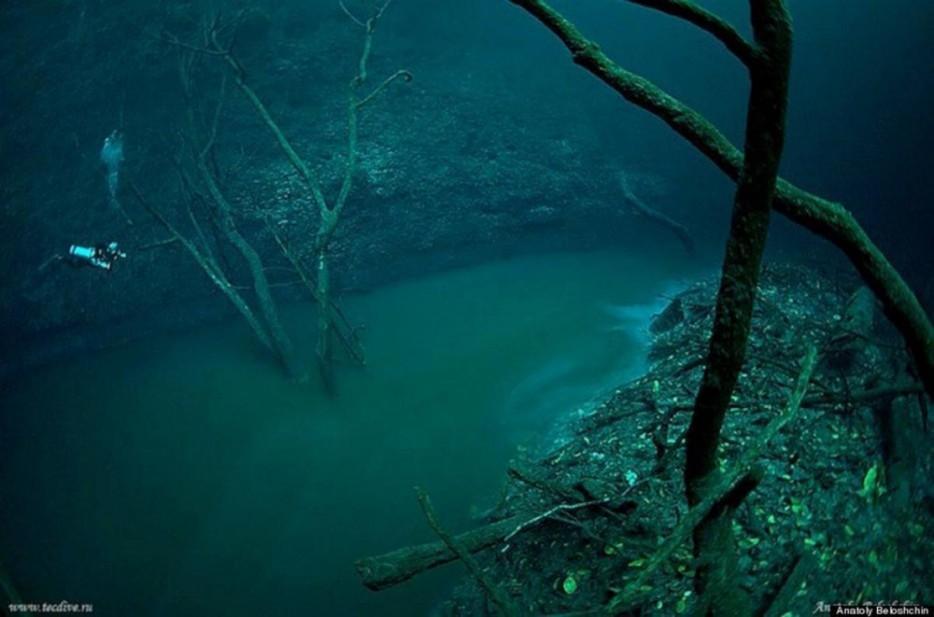 Underwater Rivers