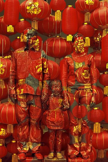 Liu Bolin Camouflage