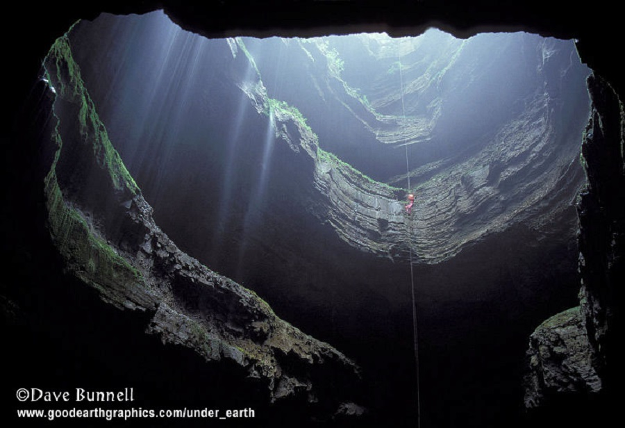 Dave Bunnell -  cave in alabama