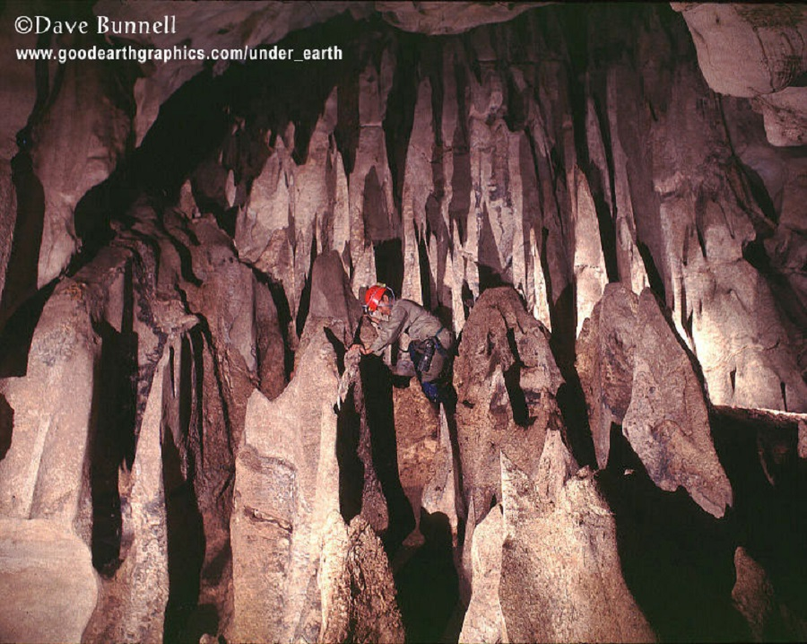 Dave Bunnell - cave in borneo