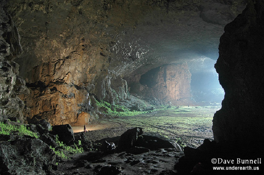 Dave Bunnell - cave in china