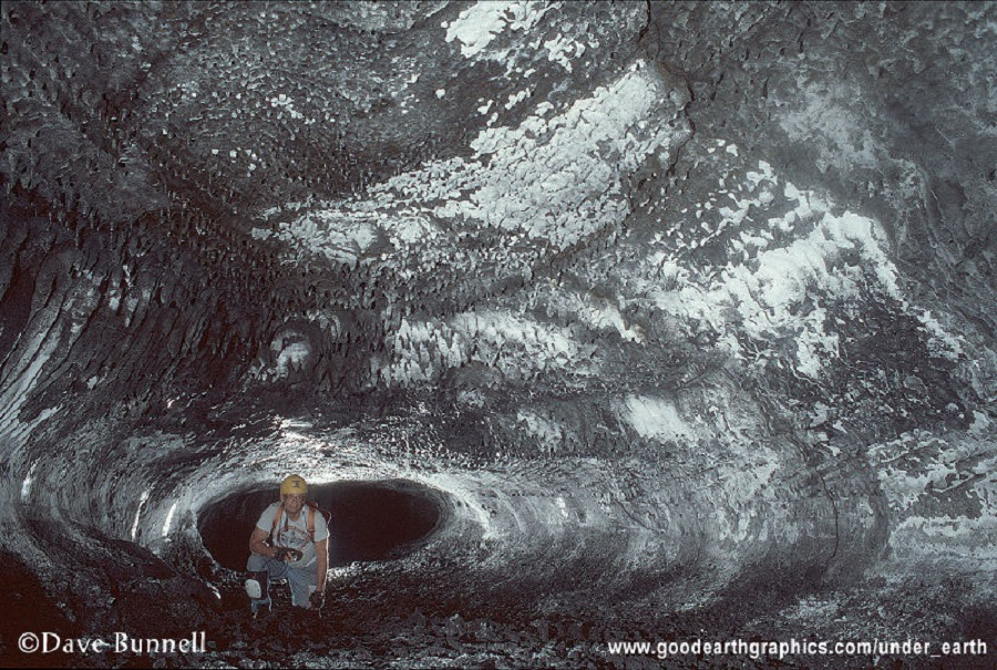 Dave Bunnell - cave in hawaii