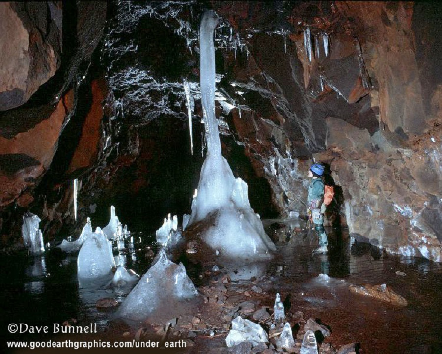 Dave Bunnell - cave in idaho