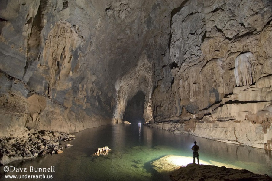 Dave Bunnell - cave in laos