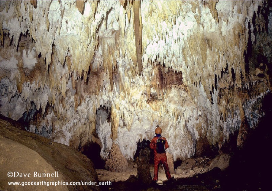 Dave Bunnell - cave in new_guinea
