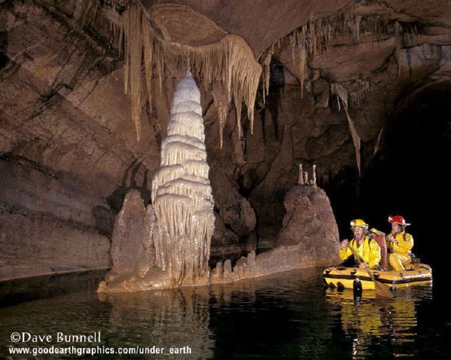 Dave Bunnell - cave in slovenia