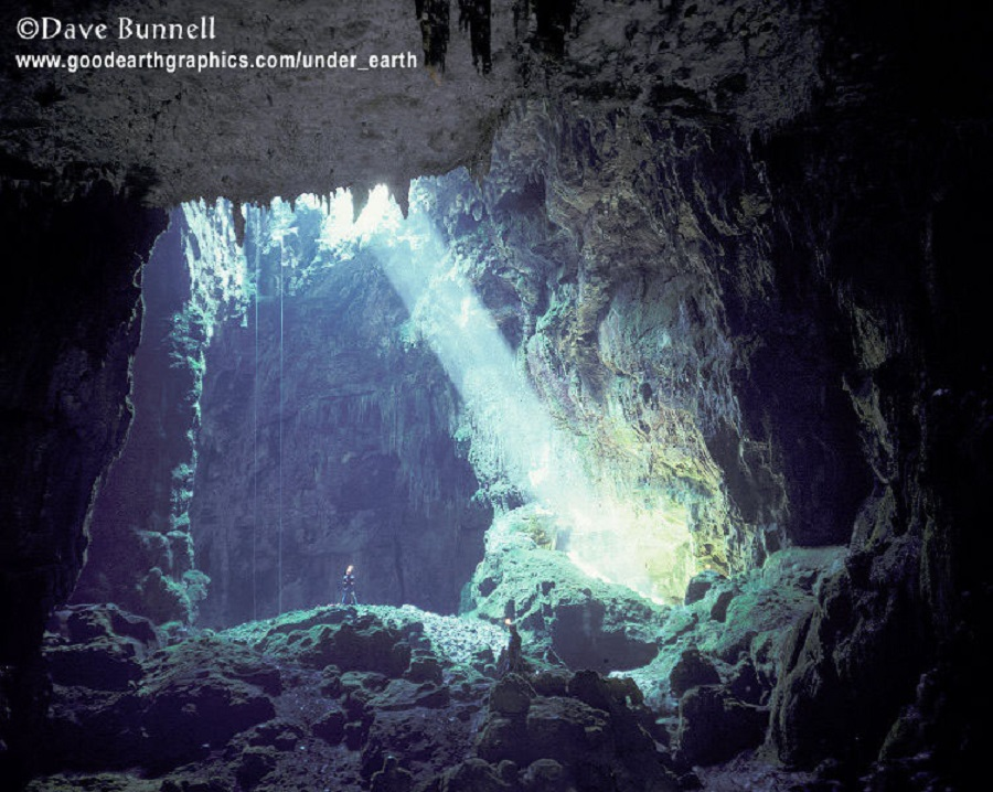 Dave Bunnell -cave in spain