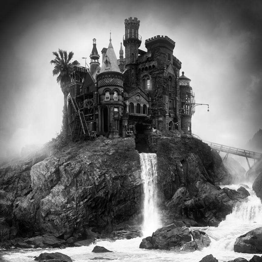 Amazingly Dark And Surreal Architecture By Jim Kazanjian A Hollywood Style Horror Scene