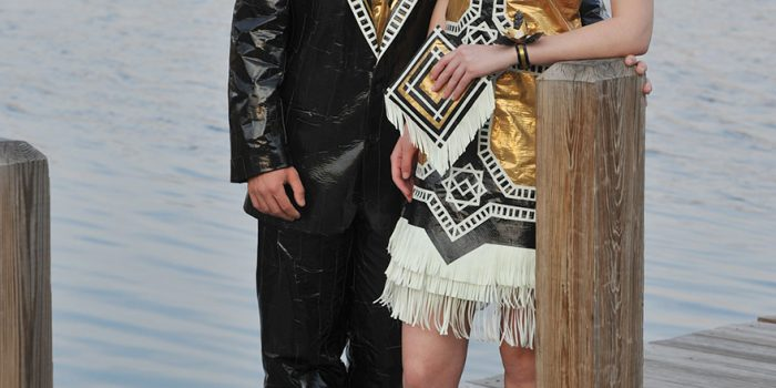 Ryan Danko And Gabrielle Farina – Duck Tape Stuck At Prom Outfit 78498