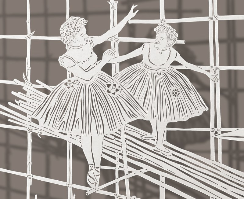 1-Bovey Lee - Cut Paper - Bamboo Ballet