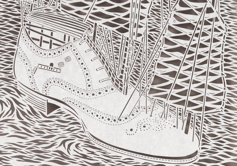 1-Bovey Lee - Cut Paper - Shoe
