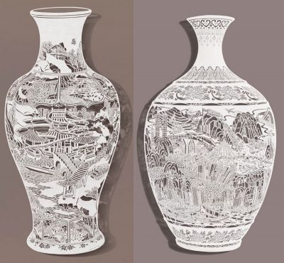1 Bovey Lee Cut Paper Vases Moments Journal