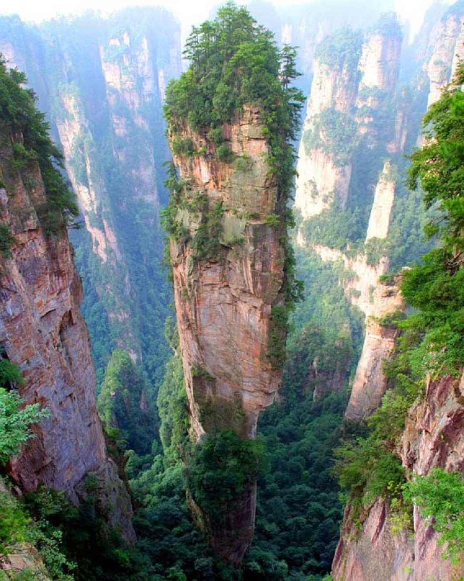 12-Tianzi Mountains - China