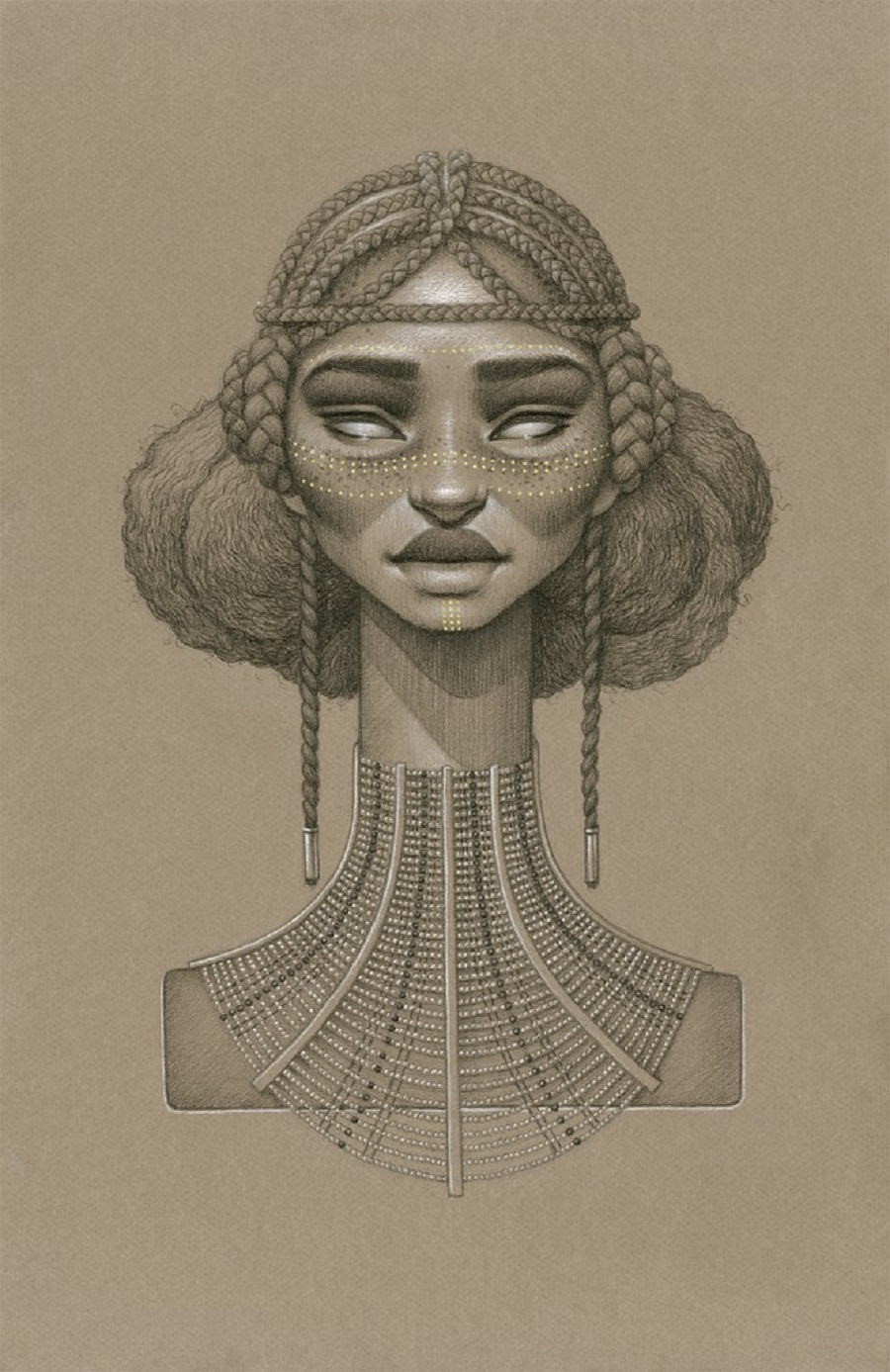 Asis Sun Goddess by Sara Golish