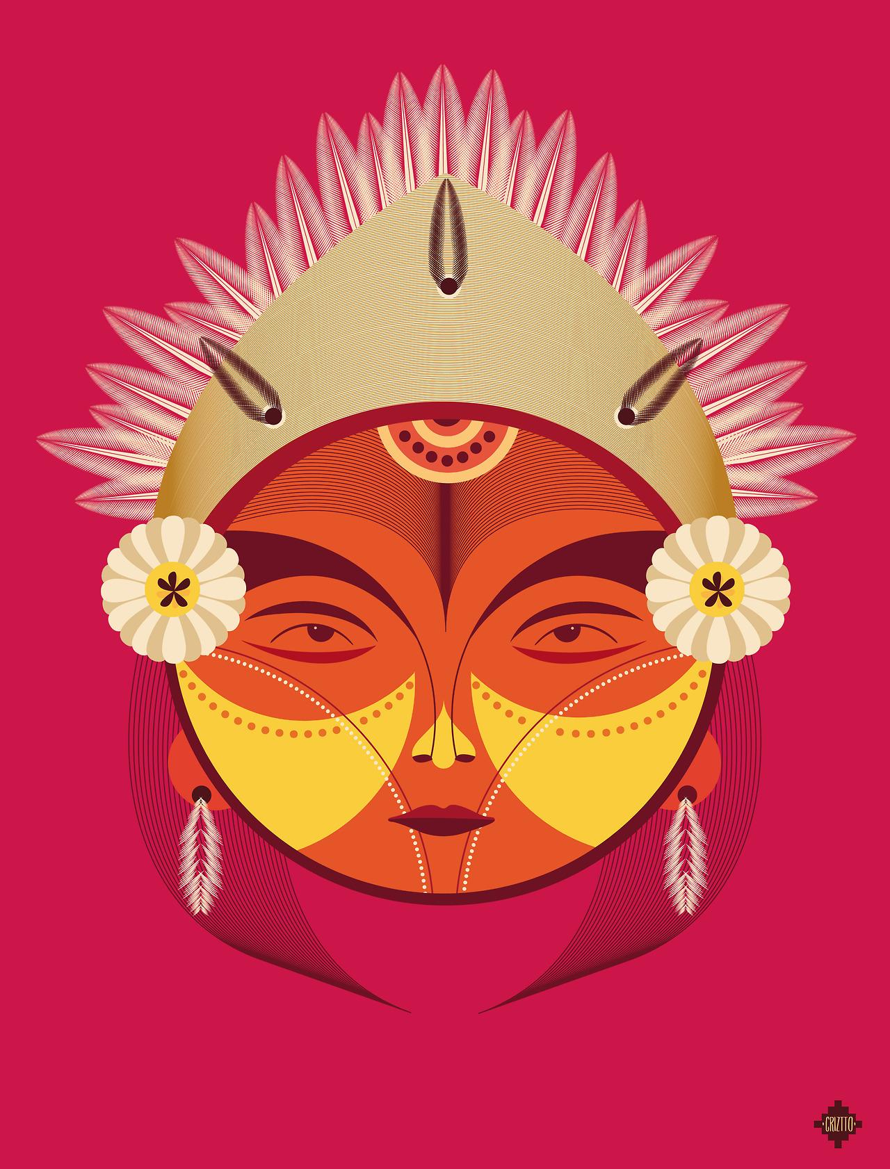 Cristobal Ramirez - Pachamama - Rapa Nui chile