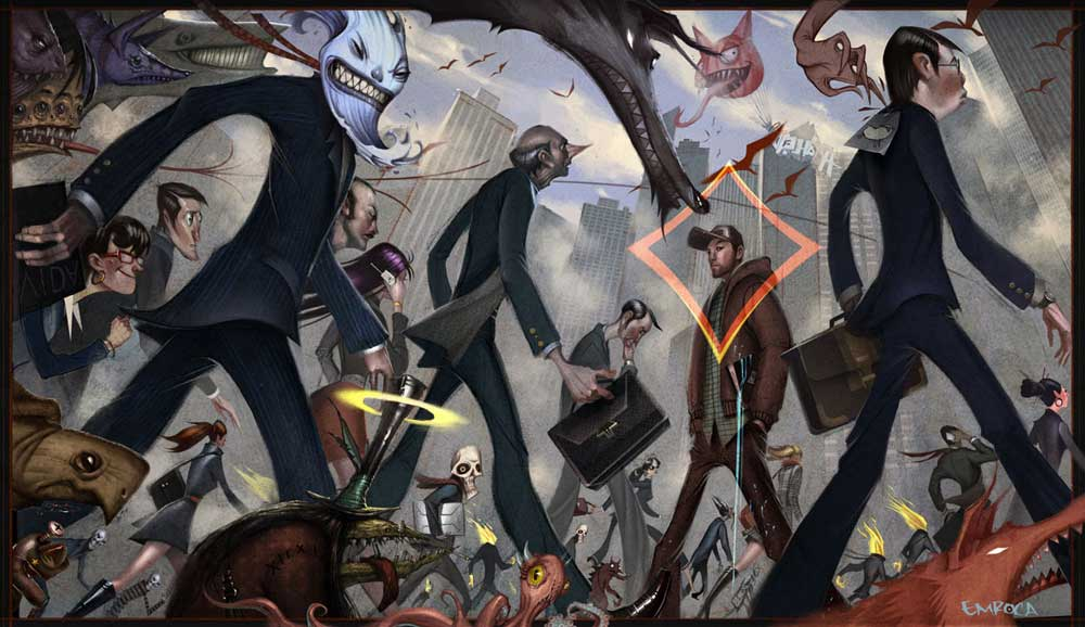 Jose Emroca_Against The Grain