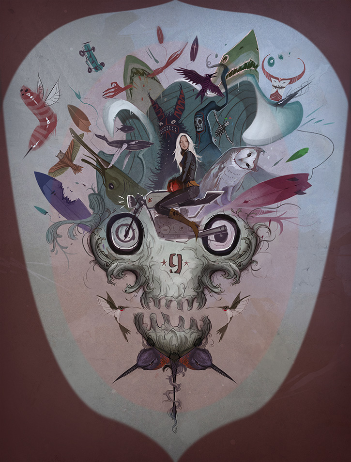 Jose Emroca_Bianca and Her Bike
