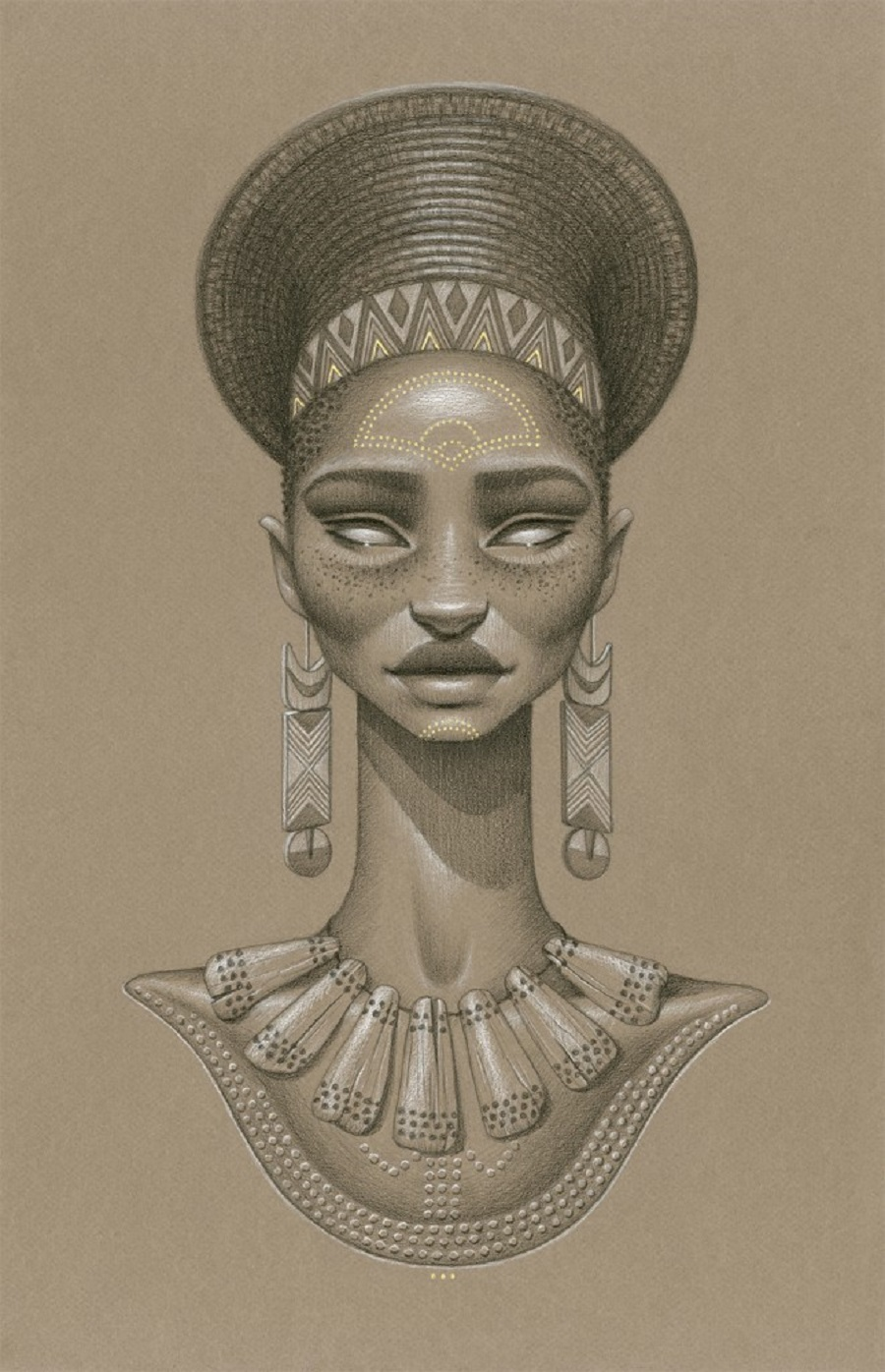 Khwezi Sun Goddess by Sara Golish
