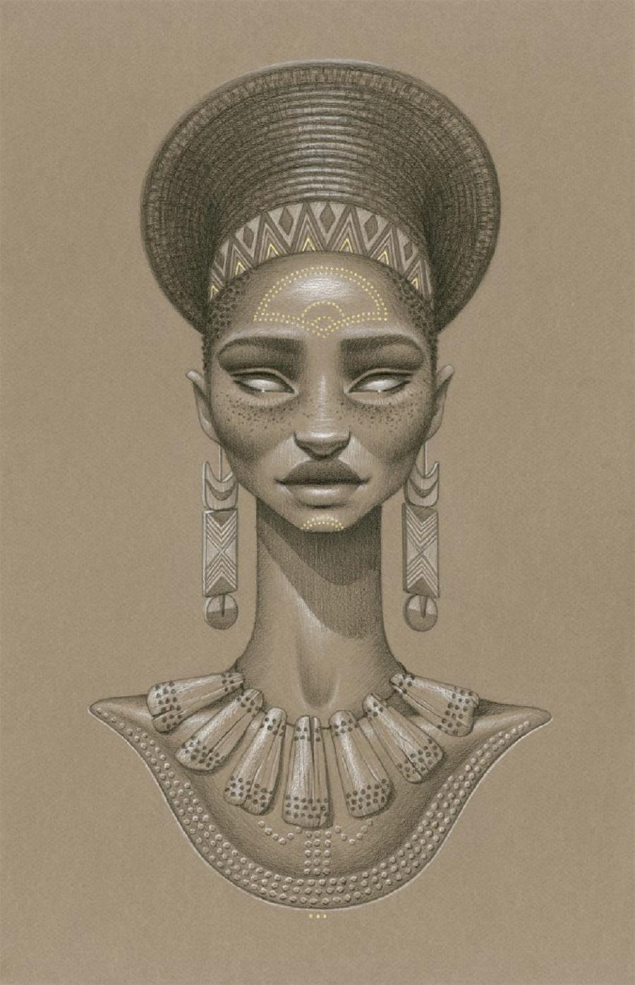 Khwezi Sun Goddess by Sara Golish