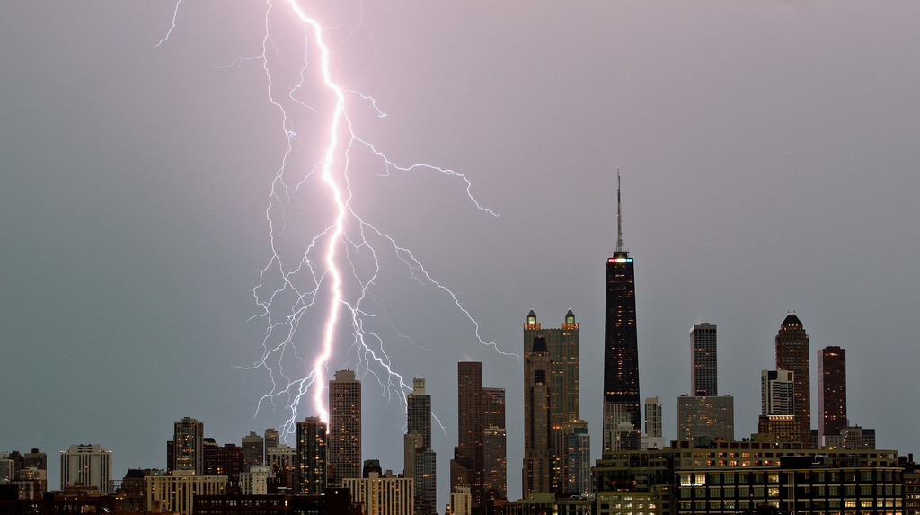 Lightning Strikes - Chicago - 224512622
