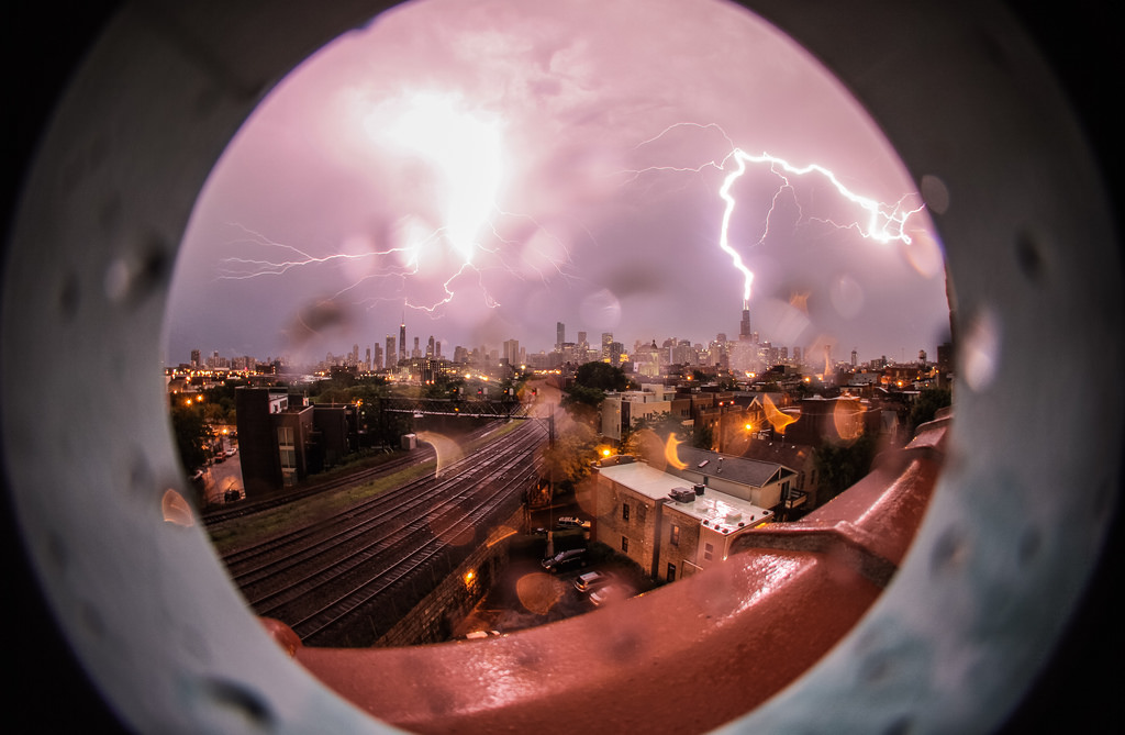 Lightning Strikes - Chicago - 69585484
