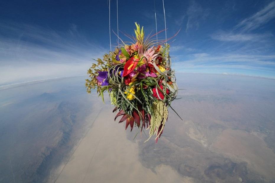Makoto Azuma - Botanical Space Flight  - bouquet flowers  02516542