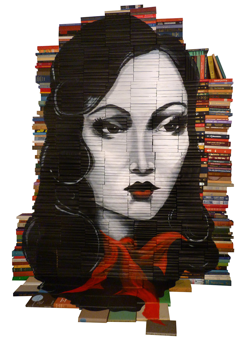 Mike Stilkey - Books Paintings 54769552