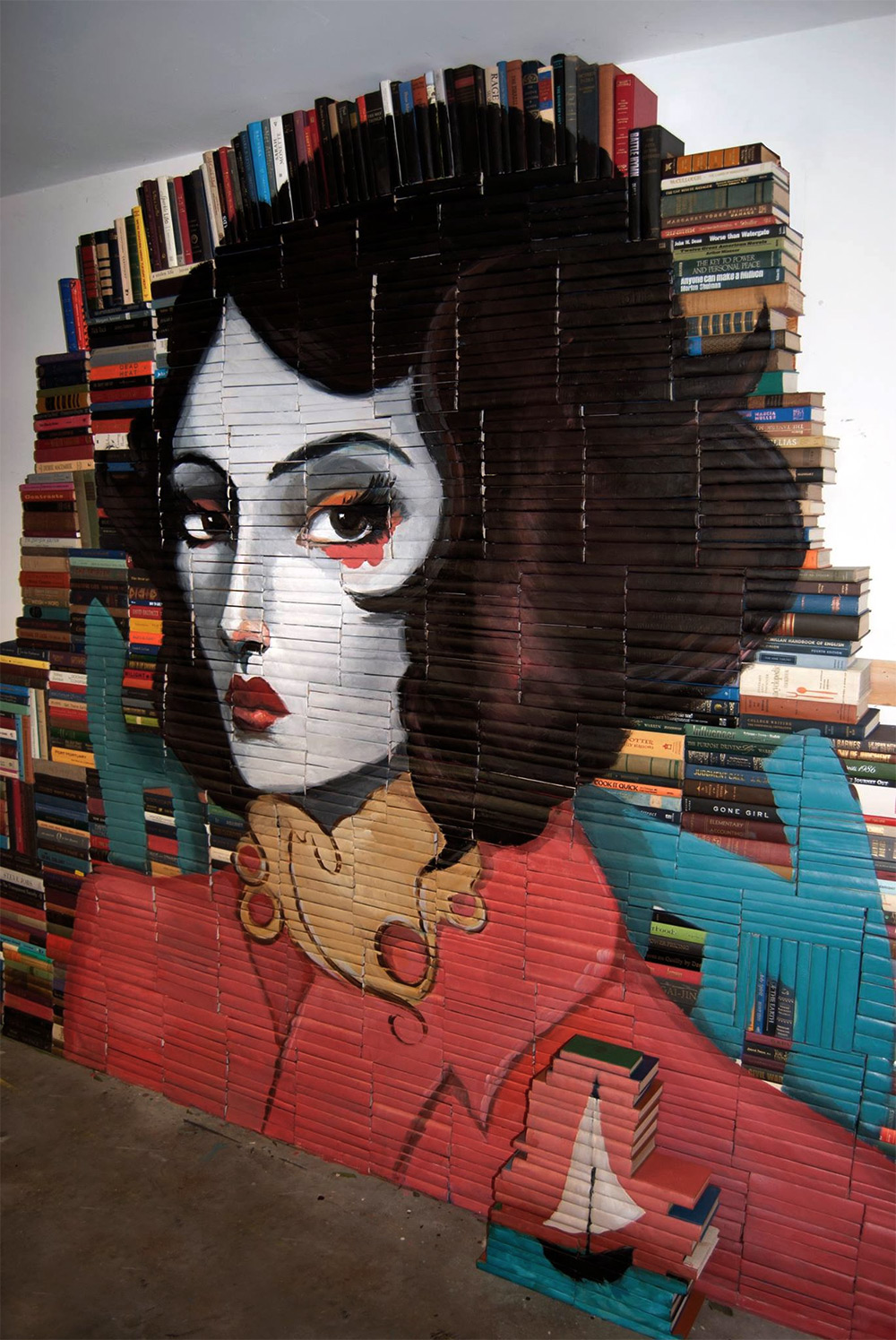 Mike Stilkey – Books Paintings 5698542