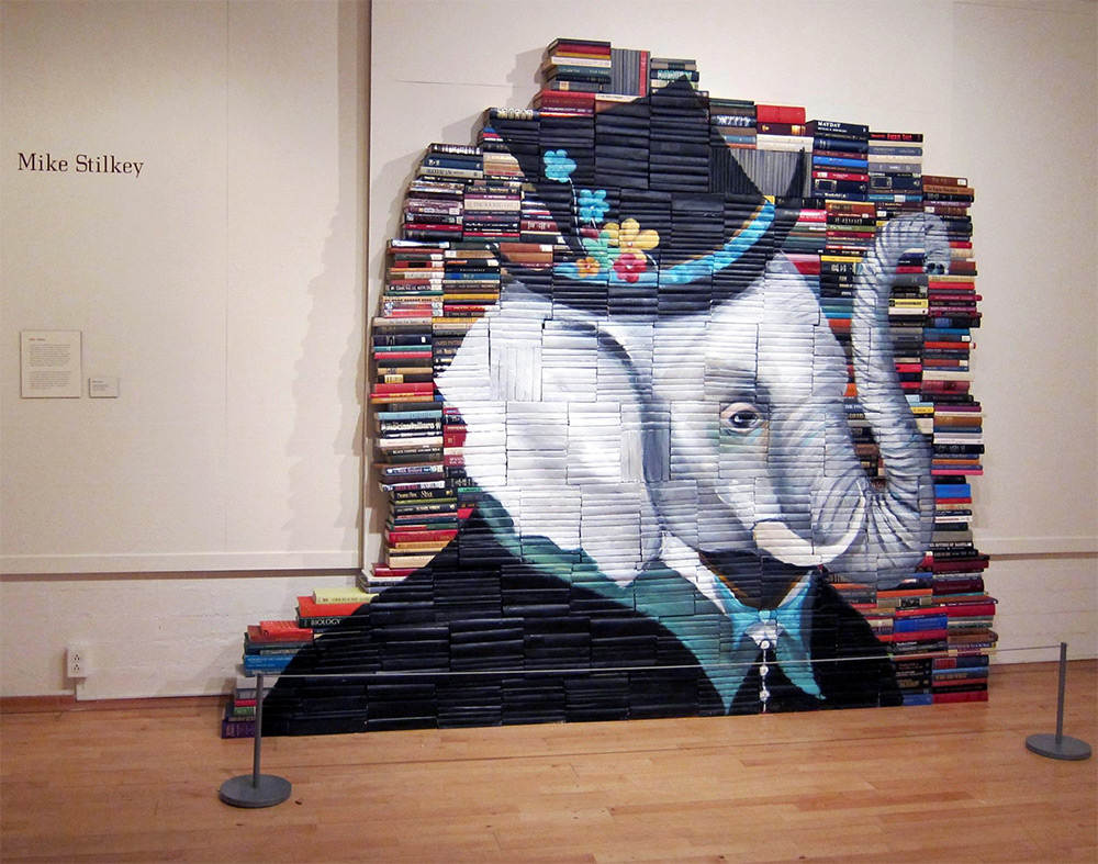 Mike Stilkey - Books Paintings 6951425