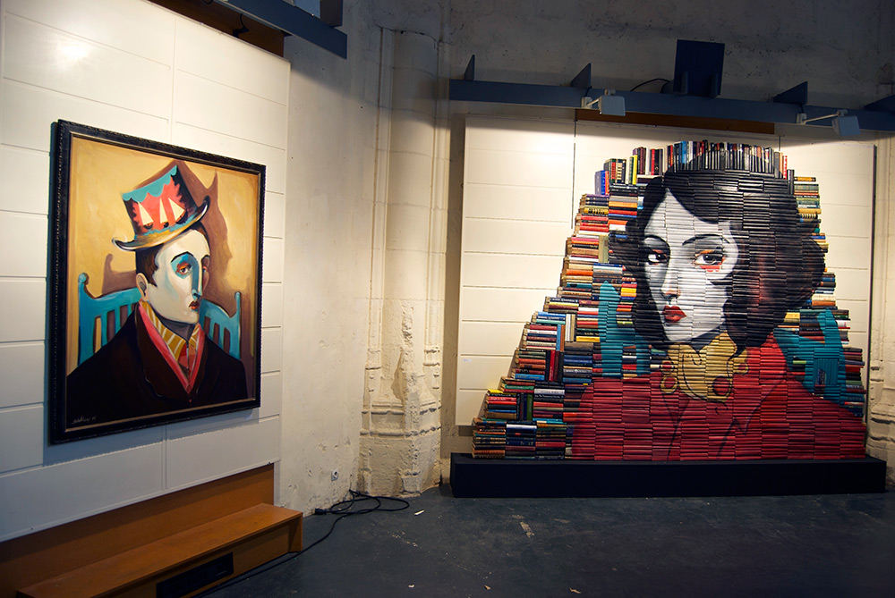 Mike Stilkey - Books Paintings 9625845