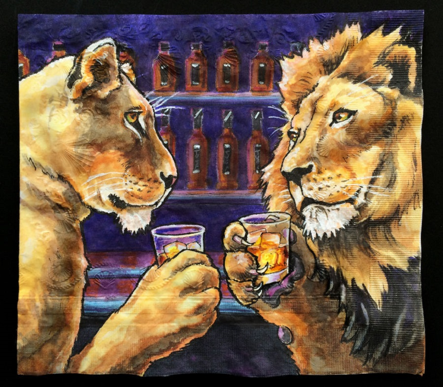 Nina Levy - Lions With Liquor