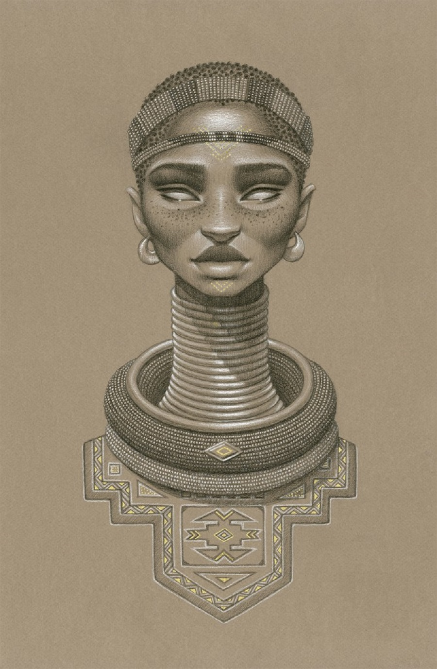 Nomalanga Sun Goddess by Sara Golish