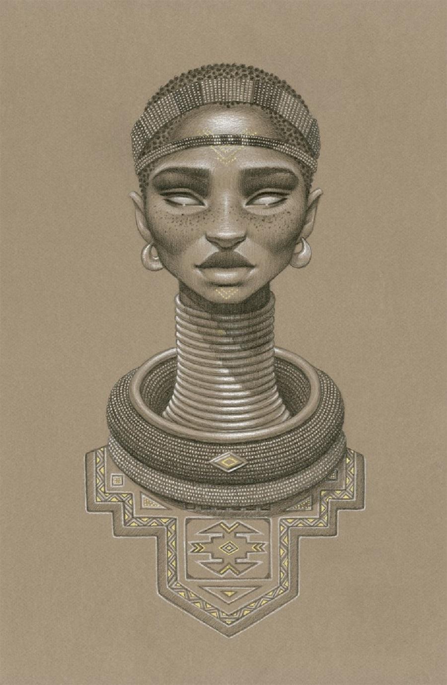 Nomalanga Sun Goddess by Sara Golish