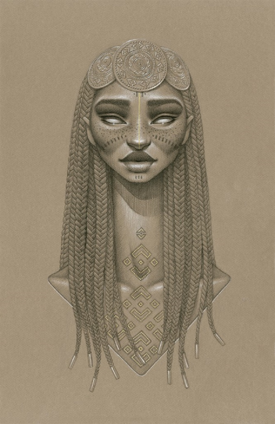 Nyambi Sun Goddess by Sara Golish